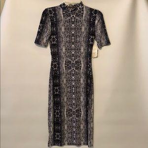 Altar'd State Animal print Small Long Dress